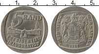 Изображение Монеты ЮАР 5 ранд 1994 Медно-никель XF+