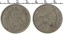 Изображение Монеты Чили 2 песо 1927 Серебро XF-