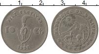 Изображение Монеты Боливия 10 сентаво 1937 Медно-никель XF