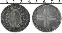 Изображение Монеты Люцерн 40 батзен 1796 Серебро XF
