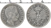 Изображение Монеты Италия 1 лира 1907 Серебро UNC- Витторио Эмануил III
