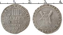 Изображение Монеты Брауншвайг-Люнебург 4 грош 1708 Серебро XF
