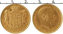 Изображение Монеты Дания 20 крон 1916 Золото UNC Кристиан Х (KM# 817.