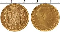 Изображение Монеты Дания 20 крон 1917 Золото UNC-