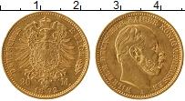 Изображение Монеты Пруссия 20 марок 1872 Золото UNC-