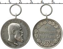 Изображение Монеты Германия Вюртемберг Медаль 0 Серебро UNC-