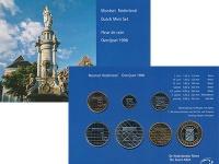 Изображение Подарочные монеты Нидерланды Набор 1996 года 1996  UNC В набор входят шесть
