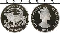 Продать Монеты Каймановы острова 1 доллар 1995 Серебро