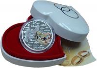 Изображение Подарочные монеты Ниуэ Вечная любовь 2011 Серебро Proof