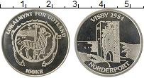 Изображение Монеты Швеция 100 крон 1984 Серебро Proof- Городские деньги