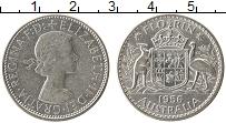 Изображение Монеты Австралия 1 флорин 1956 Серебро XF