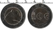 Изображение Мелочь Алжир 100 динар 2018 Биметалл UNC