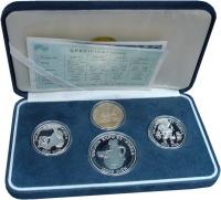 Изображение Подарочные монеты Южная Корея Экспо-93 1993 Серебро Proof