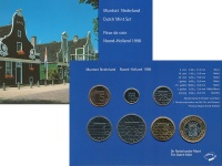 Изображение Подарочные монеты Нидерланды Набор монет 1998 года 1998  UNC