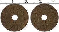 Изображение Монеты Дания 2 эре 1929 Бронза XF
