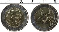 Изображение Монеты Кипр 2 евро 2009 Биметалл UNC-