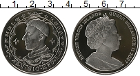 Изображение Монеты Виргинские острова 10 долларов 2007 Серебро Proof Елизавета II. Генрих