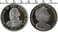 Изображение Монеты Виргинские острова 10 долларов 2008 Серебро Proof Елизавета II. Георг