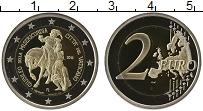 Изображение Монеты Ватикан 2 евро 2016 Биметалл Proof