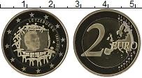 Продать Монеты Люксембург 2 евро 2015 Биметалл