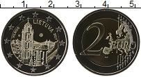 Изображение Монеты Литва 2 евро 2017 Биметалл UNC