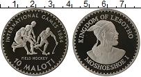 Изображение Монеты Лесото 10 малоти 1984 Медно-никель Proof-