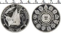 Изображение Монеты Португалия 1000 эскудо 1992 Серебро Proof Иберо-Америка. 500 л