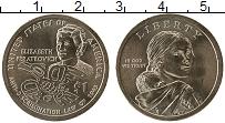 Изображение Мелочь США 1 доллар 2020 Латунь UNC