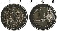 Изображение Мелочь Франция 2 евро 2020 Биметалл UNC