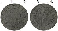 Изображение Монеты Германия : Нотгельды 10 пфеннигов 1917 Цинк VF Вейссенфелс