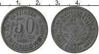 Изображение Монеты Германия : Нотгельды 50 пфеннигов 1917 Цинк XF Хаттинген