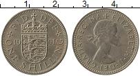 Изображение Монеты Великобритания 1 шиллинг 1961 Медно-никель XF
