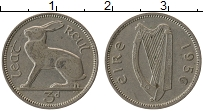 Изображение Монеты Ирландия 3 пенса 1956 Медно-никель XF