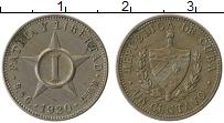 Изображение Монеты Куба 1 сентаво 1920 Медно-никель XF