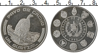 Продать Монеты Гватемала 1 кетцаль 1994 Серебро