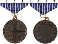 Изображение Монеты Норвегия Медаль 0 Медь XF `Медаль Военно-морск