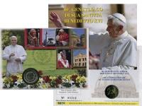 Изображение Подарочные монеты Ватикан 2 евро 2007 Биметалл UNC