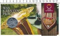 Изображение Подарочные монеты Австрия 10 евро 2012 Серебро UNC Федеральные земли Ав