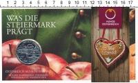 Изображение Подарочные монеты Австрия 10 евро 2012 Серебро UNC Федеральные земли: Ш