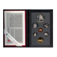 Изображение Подарочные монеты Канада Хоккей 1993 Серебро Proof