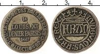 Изображение Монеты Франция Жетон 0 Медно-никель XF Игровой жетон Луи XI