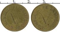 Изображение Монеты Франция Жетон 0 Латунь XF Жетон для таксофона