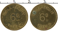 Изображение Монеты Великобритания Жетон 0 Латунь XF Токен