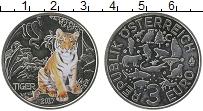 Продать Монеты Австрия 3 евро 2017 Медно-никель