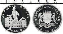 Изображение Монеты Сомали 250 шиллингов 2002 Серебро Proof- Олимпийские игры в Р