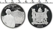 Изображение Монеты Фиджи 2 доллара 2014 Серебро Proof