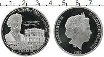 Изображение Монеты Соломоновы острова 5 долларов 2013 Серебро Proof