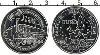 Продать Монеты Бельгия 5 евро 2010 Серебро