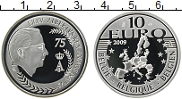 Продать Монеты Бельгия 10 евро 2009 Серебро