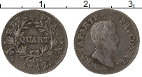 Изображение Монеты Франция 1/4 франка 1803 Серебро XF